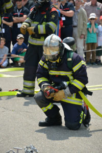 Fire Fighter helping